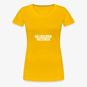 Melbourne Records - Women's Premium T-Shirt