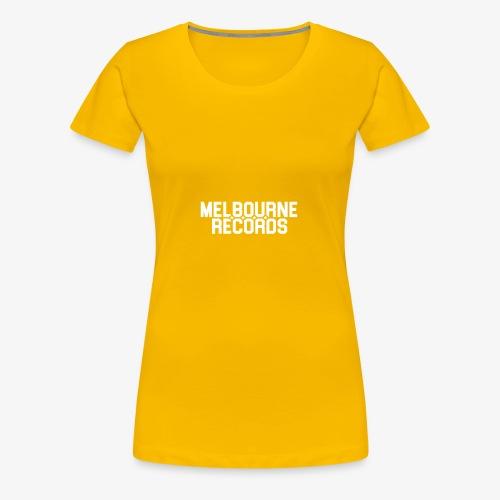 Melbourne Records - Women's Premium T-Shirt