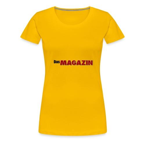 Das MAGAZIN - Frauen Premium T-Shirt
