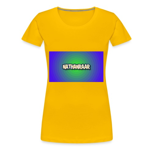 Nathan Raar - Vrouwen Premium T-shirt