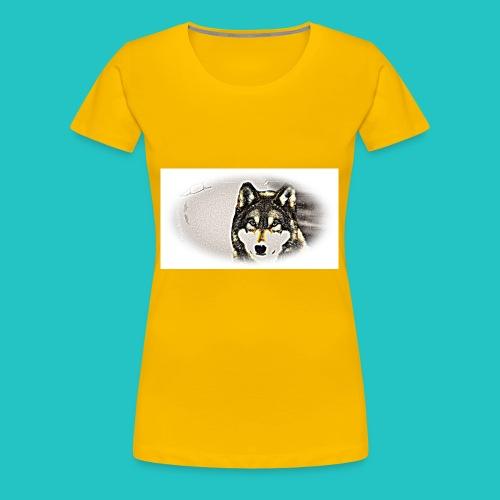 Bluza Wilk - Koszulka damska Premium