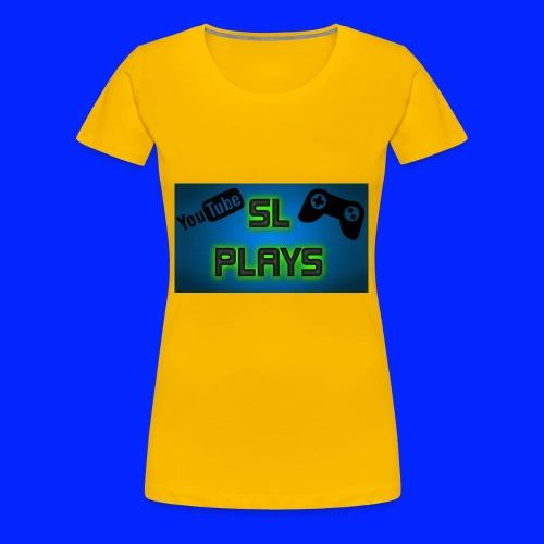 SL Plays musematte - Premium T-skjorte for kvinner