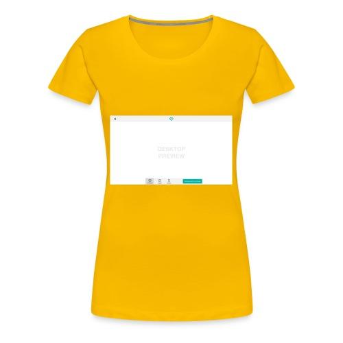 02_Preview_theme - Frauen Premium T-Shirt
