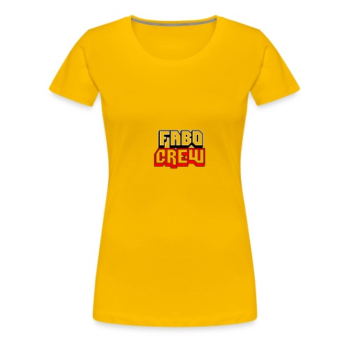 Fabo Crew Merch - Frauen Premium T-Shirt