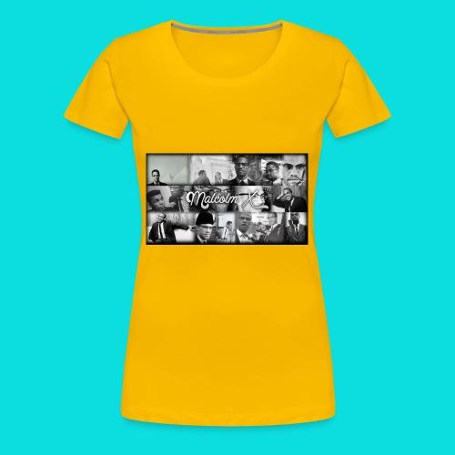 malcolm X - Women's Premium T-Shirt