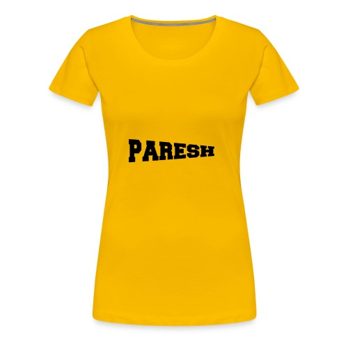 Paresh - Women's Premium T-Shirt