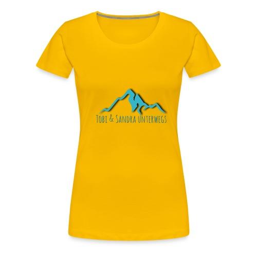 Tobiundsandraunterwegs - Frauen Premium T-Shirt