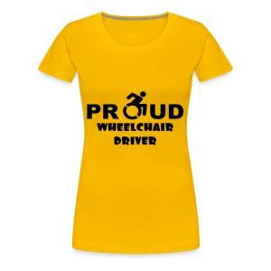 Proud - Vrouwen Premium T-shirt