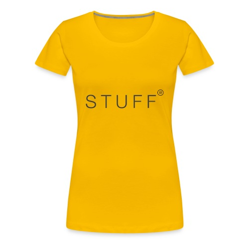 stuff - Women's Premium T-Shirt