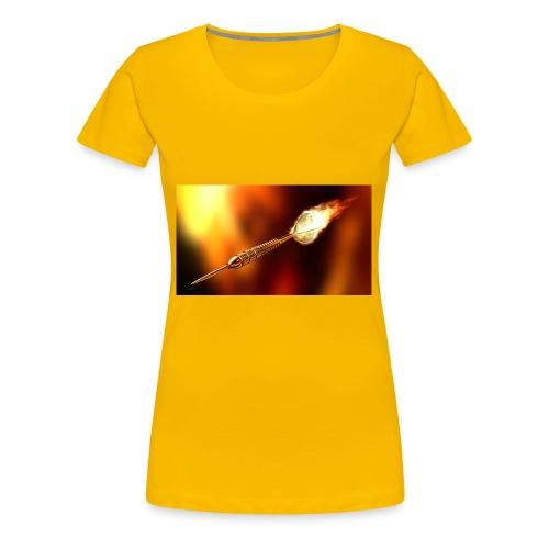Dart - Frauen Premium T-Shirt