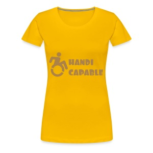Capable - Vrouwen Premium T-shirt