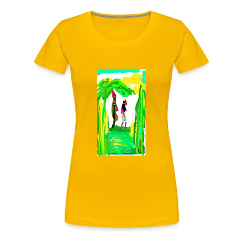 Dschungel - Frauen Premium T-Shirt