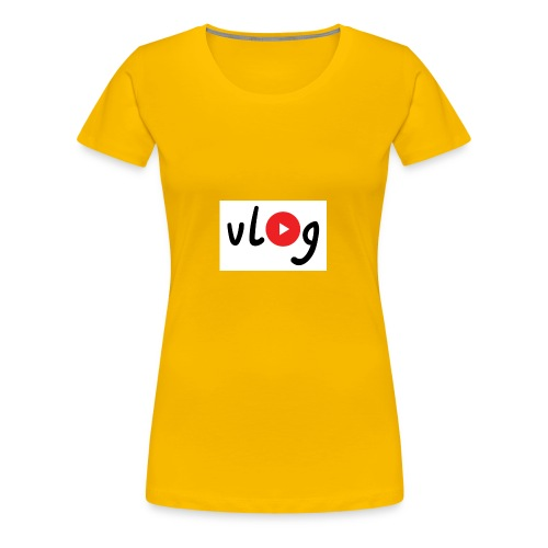 Vlog merch - Women's Premium T-Shirt