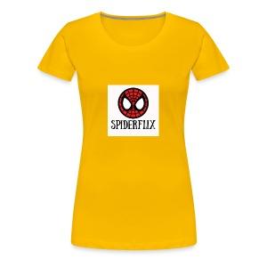 spiderflix - Camiseta premium mujer