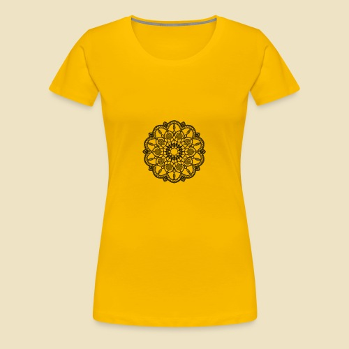 Mandala - Camiseta premium mujer