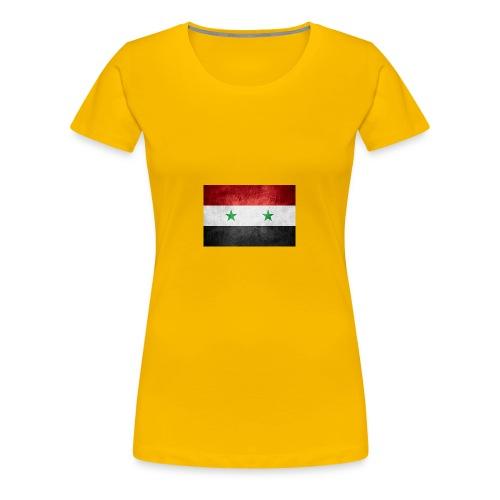 Syrien - Frauen Premium T-Shirt