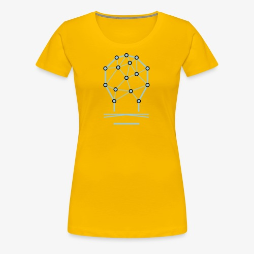 Knalleridee Girl - Frauen Premium T-Shirt