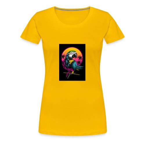 Papagei Vice City - Frauen Premium T-Shirt