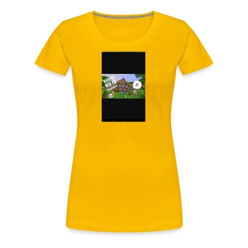 Let's Player Part #1 - Frauen Premium T-Shirt