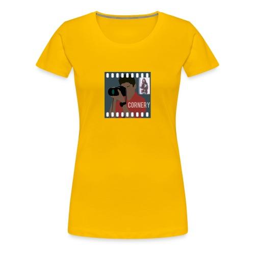 cornery - Maglietta Premium da donna