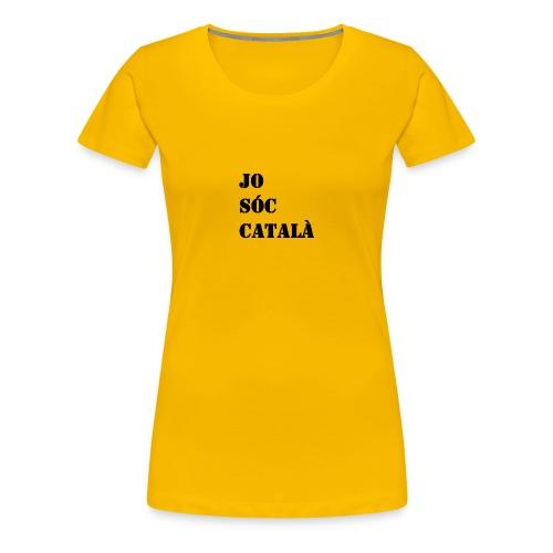 JO SOC CATALA - Camiseta premium mujer