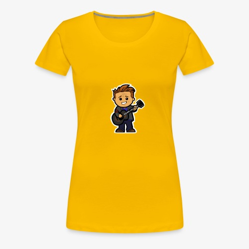 guitaring - Women's Premium T-Shirt