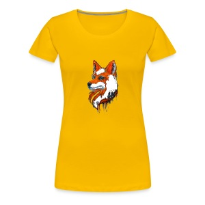 David Pucher Art Fuchs - Frauen Premium T-Shirt