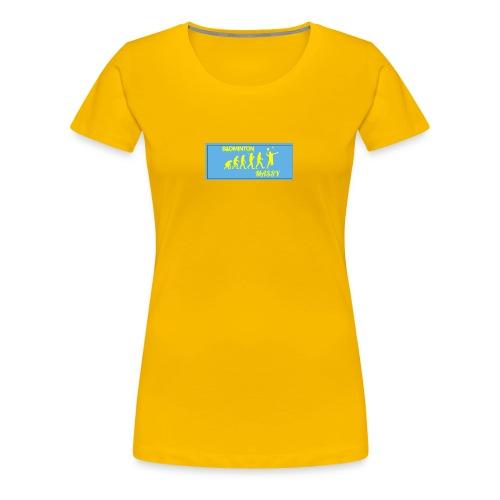 Badminton évolution - T-shirt Premium Femme