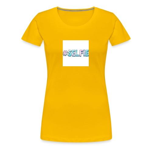 #selfiemerch - Women's Premium T-Shirt