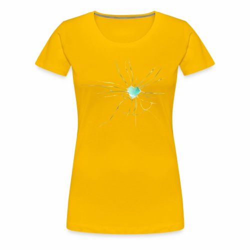 Coeur Brisé - T-shirt Premium Femme