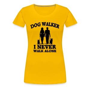 Dog Walker - Frauen Premium T-Shirt