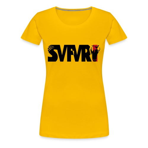 Safari Logo SCHWARZ - Frauen Premium T-Shirt