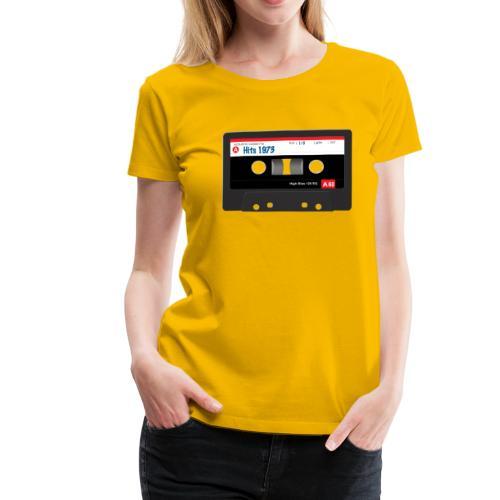 Audio Cassette - Vrouwen Premium T-shirt