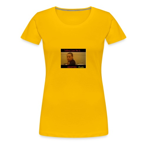 Telling Liam He Is Adopted - Women's Premium T-Shirt