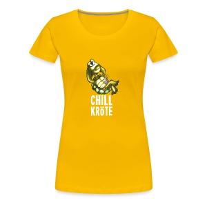 Chillkröte - Frauen Premium T-Shirt