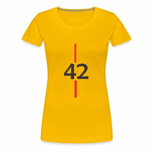 42 - Camiseta premium mujer