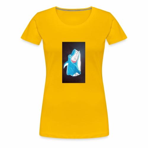 Requin - T-shirt Premium Femme