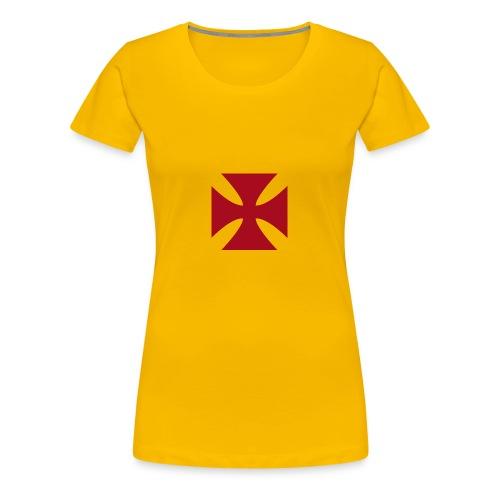 Cruz de malta - Camiseta premium mujer