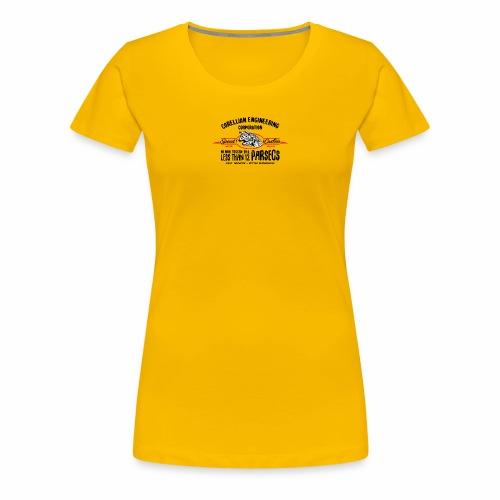 parsecs - T-shirt Premium Femme