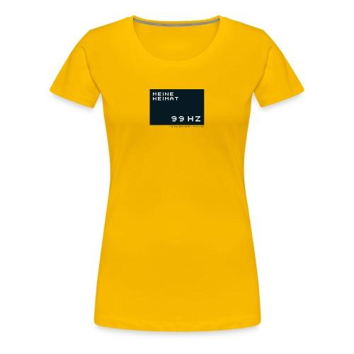 99hz - Frauen Premium T-Shirt