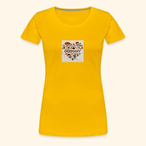 Deutschland - T-shirt Premium Femme