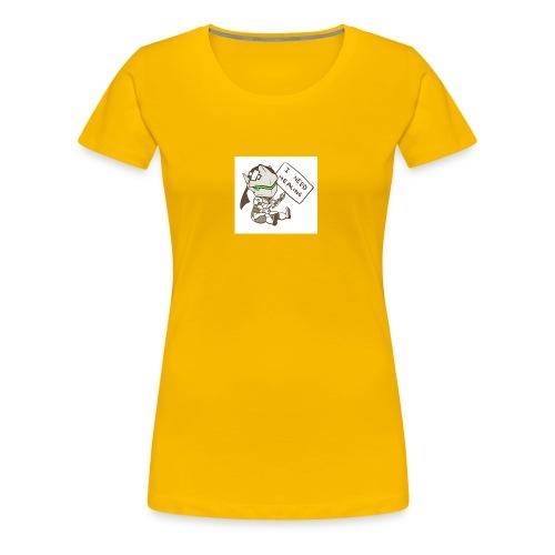 Genji I NEED HEALING - Frauen Premium T-Shirt