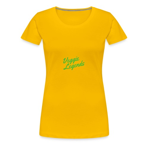 Veggie Legends - Women's Premium T-Shirt