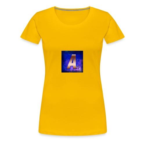 ArveYT Logo Made By Xiler 2 0 - Premium T-skjorte for kvinner