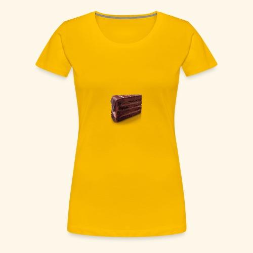 chocolate cake - Women's Premium T-Shirt