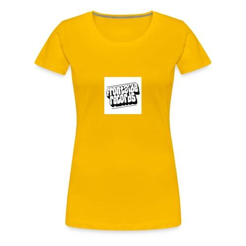 newfrontzidelogo - Dame premium T-shirt