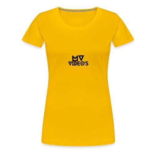 mw video's t-shirt - Vrouwen Premium T-shirt