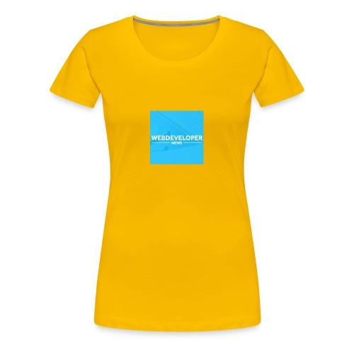 Web developer News - Frauen Premium T-Shirt