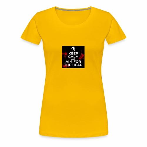 KEEPCALM ZOMBIE - Frauen Premium T-Shirt