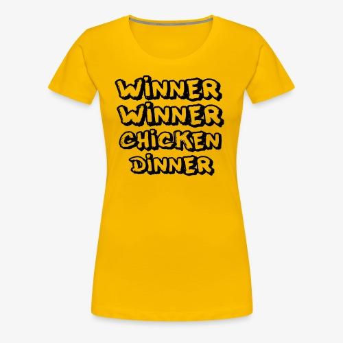 Winner WInner #1 - Frauen Premium T-Shirt